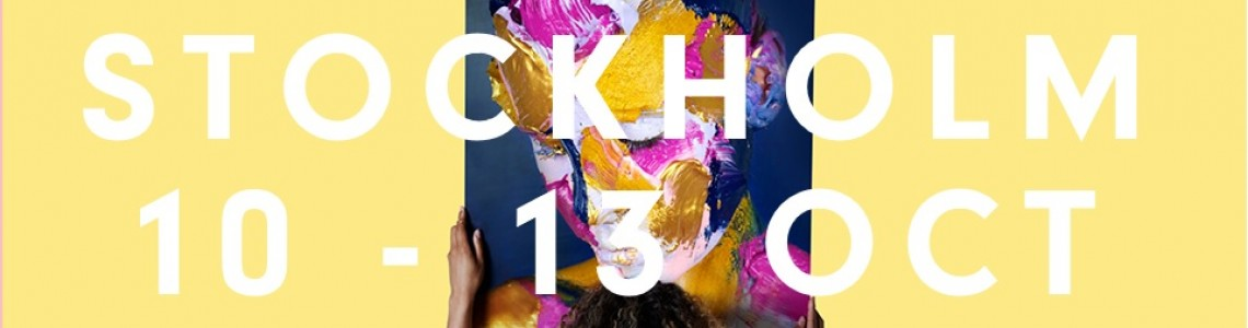 Affordable Art Fair Stockholm | 10 – 13 October 2019